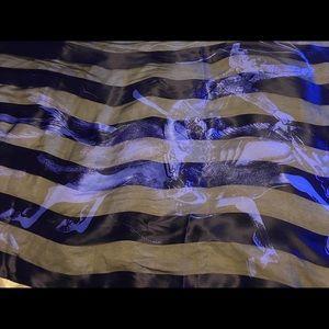 Accessories - Salvatore Ferragamo large silk scarf Lk new